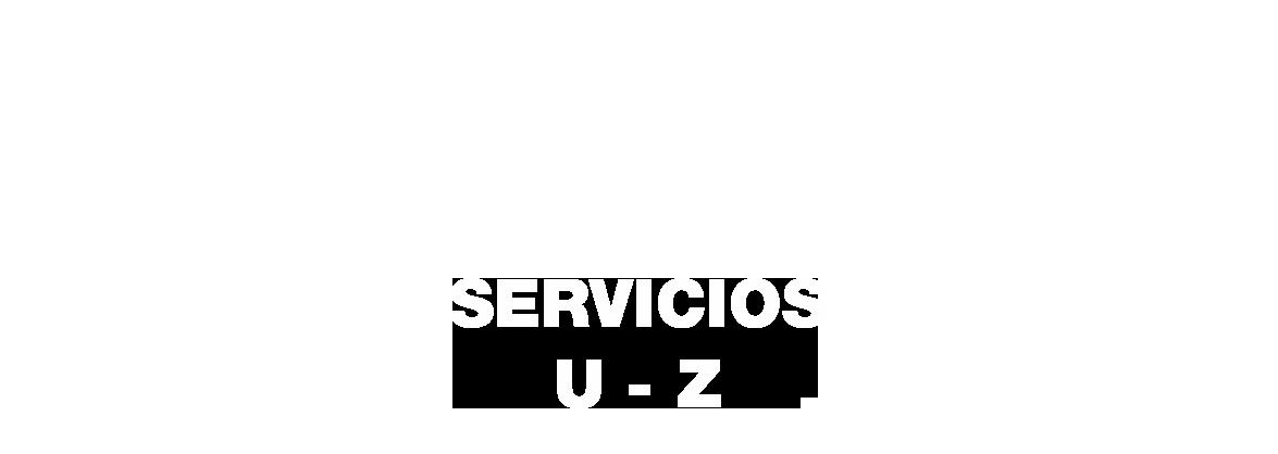Boton de la U a la Z