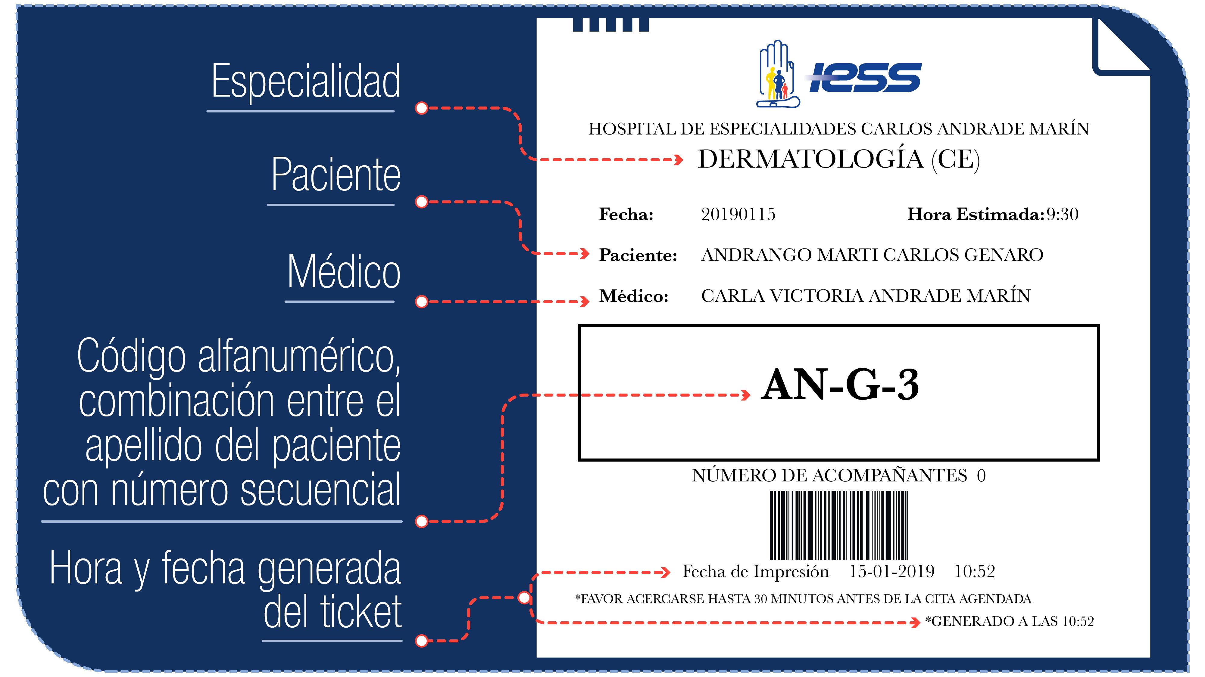 Ticket HCAM 2019